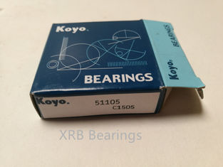 China Chrome Steel Machine Tool Bearings / Ball Thrust Bearings 25×42×11mm Size supplier