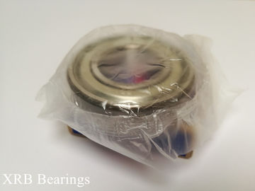 China Non - Sealed Deep Groove Ball Bearing NSK 6205 For Textile Machinery distributor